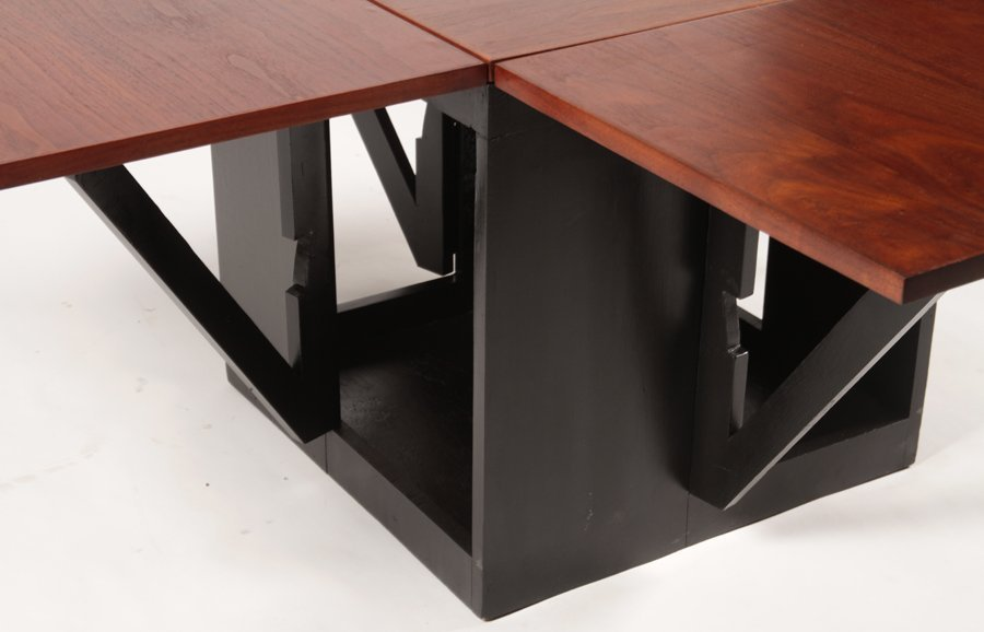 VLADIMIR KAGAN TIC-TAC-TOE TABLE CIRCA 1960-70 - 5