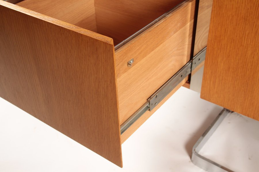 LABELED STE. MARIE & LAURENT MONTREAL CREDENZA - 5