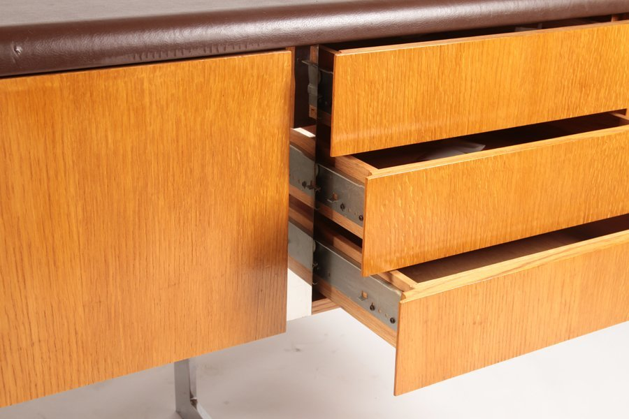 LABELED STE. MARIE & LAURENT MONTREAL CREDENZA - 6