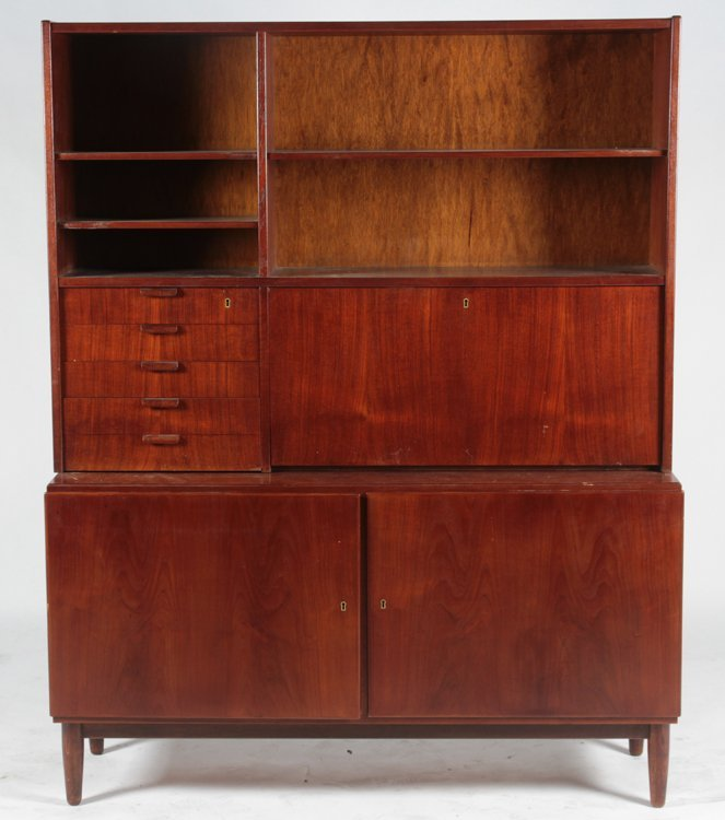 POUL HUNDEVAD TEAK SECRETARY OR DESK 1960