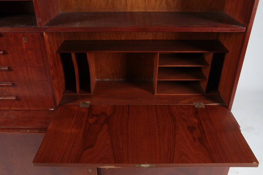 POUL HUNDEVAD TEAK SECRETARY OR DESK 1960 - 4