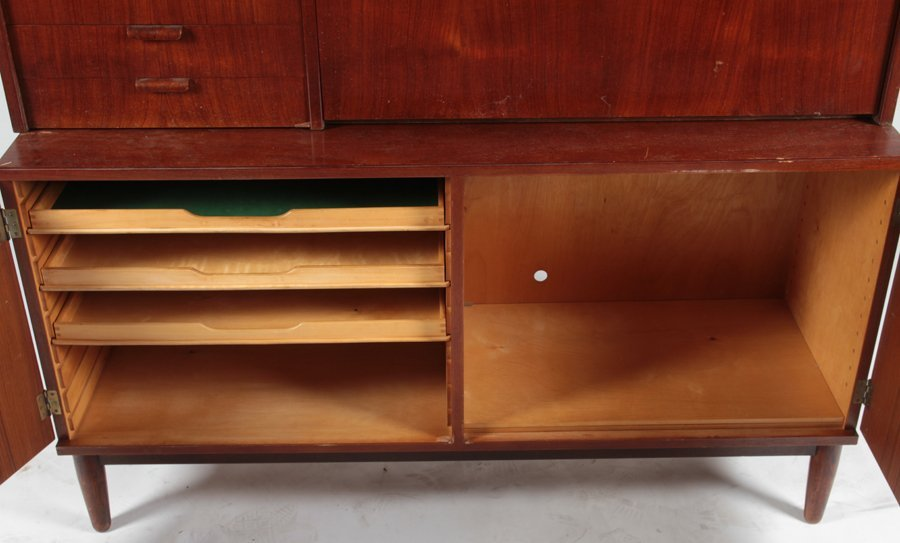 POUL HUNDEVAD TEAK SECRETARY OR DESK 1960 - 5
