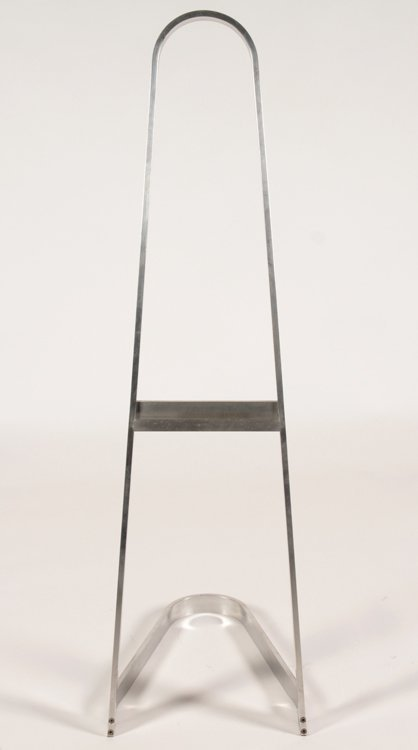ALUMINUM HAIRPIN FORM EASEL - 2