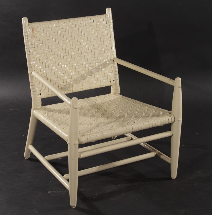 2 MODERNIST ADIRONDACK CHAIRS AND 2 OTTOMANS - 4