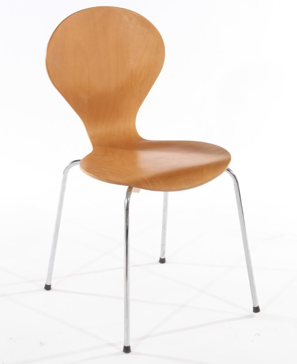 PAIR OF DANISH SIDE CHAIRS BY PHOENIX - 3