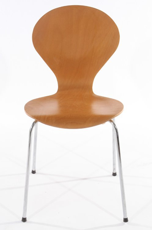 PAIR OF DANISH SIDE CHAIRS BY PHOENIX - 4