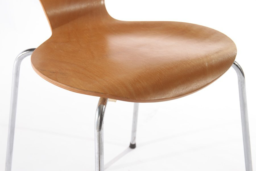 PAIR OF DANISH SIDE CHAIRS BY PHOENIX - 6