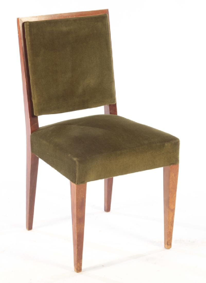 8 MID JEAN-MICHEL FRANK STYLE DINING CHAIRS 1950 - 2