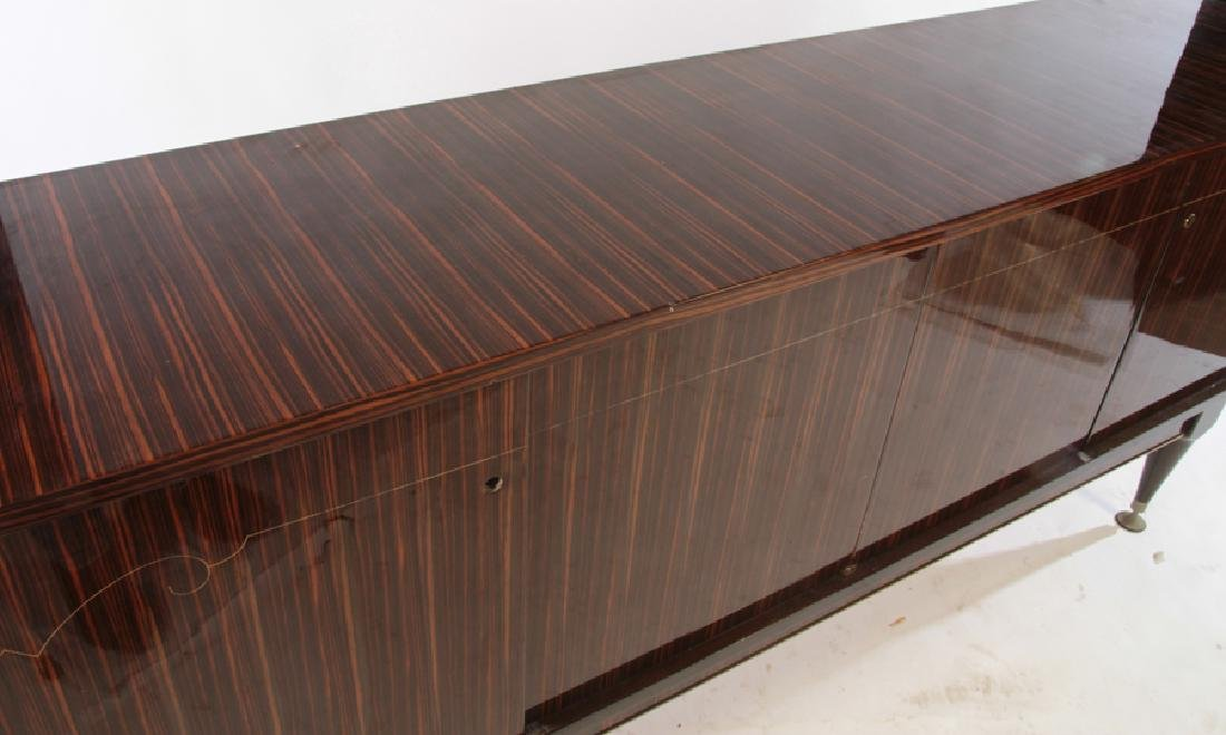 FRENCH EBONY MACASSAR INLAID SIDEBOARD C.1950 - 3