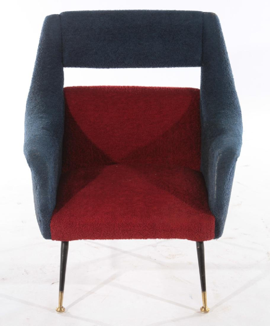 PAIR OF ITALIAN GIGI RADICE CLUB CHAIRS C.1960 - 3