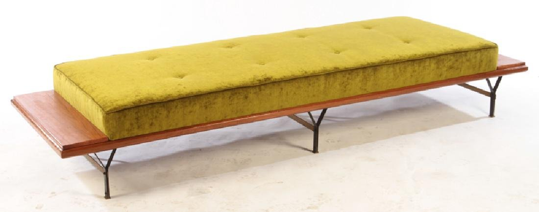 ITALIAN ELM DAYBED FLOATING ENDS C.1960