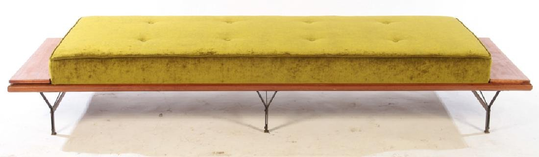 ITALIAN ELM DAYBED FLOATING ENDS C.1960 - 2