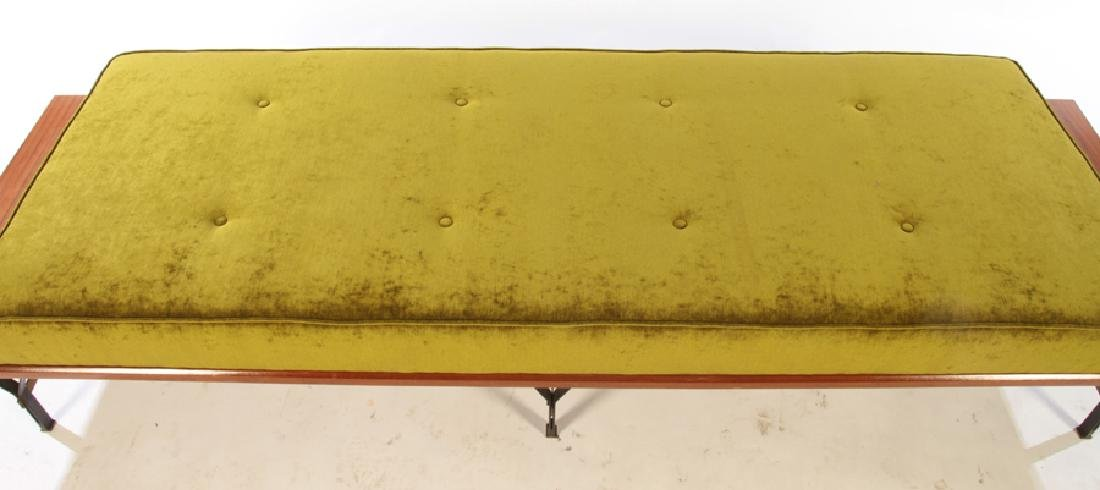 ITALIAN ELM DAYBED FLOATING ENDS C.1960 - 3