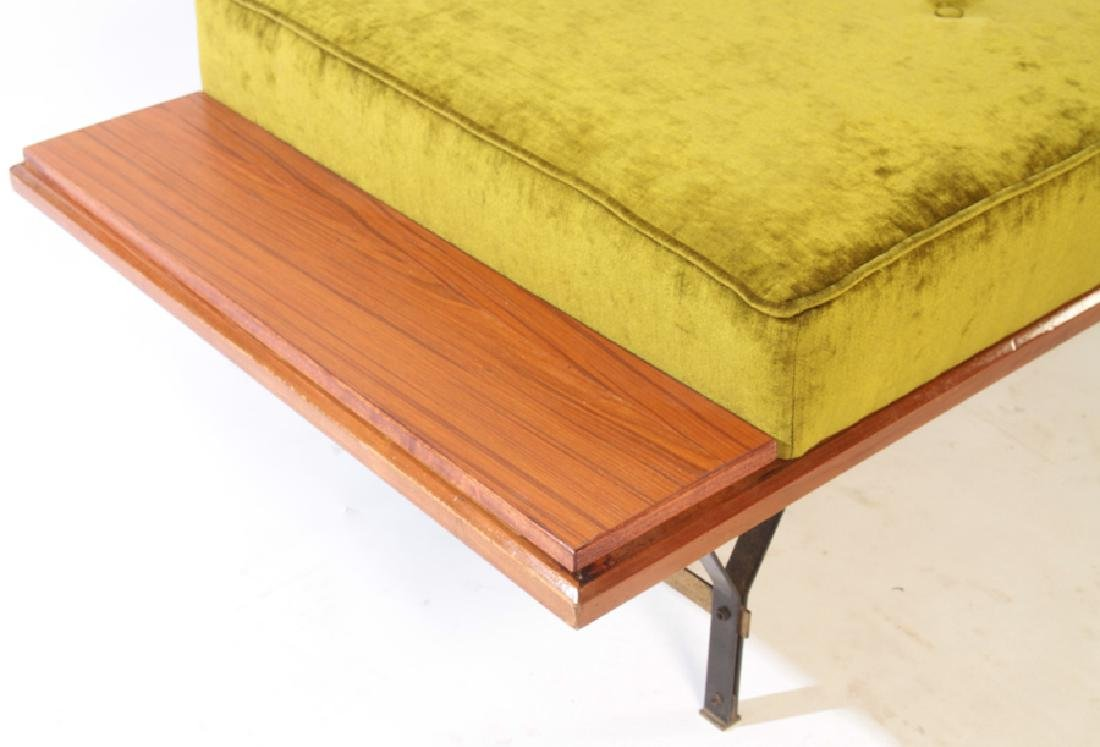 ITALIAN ELM DAYBED FLOATING ENDS C.1960 - 4