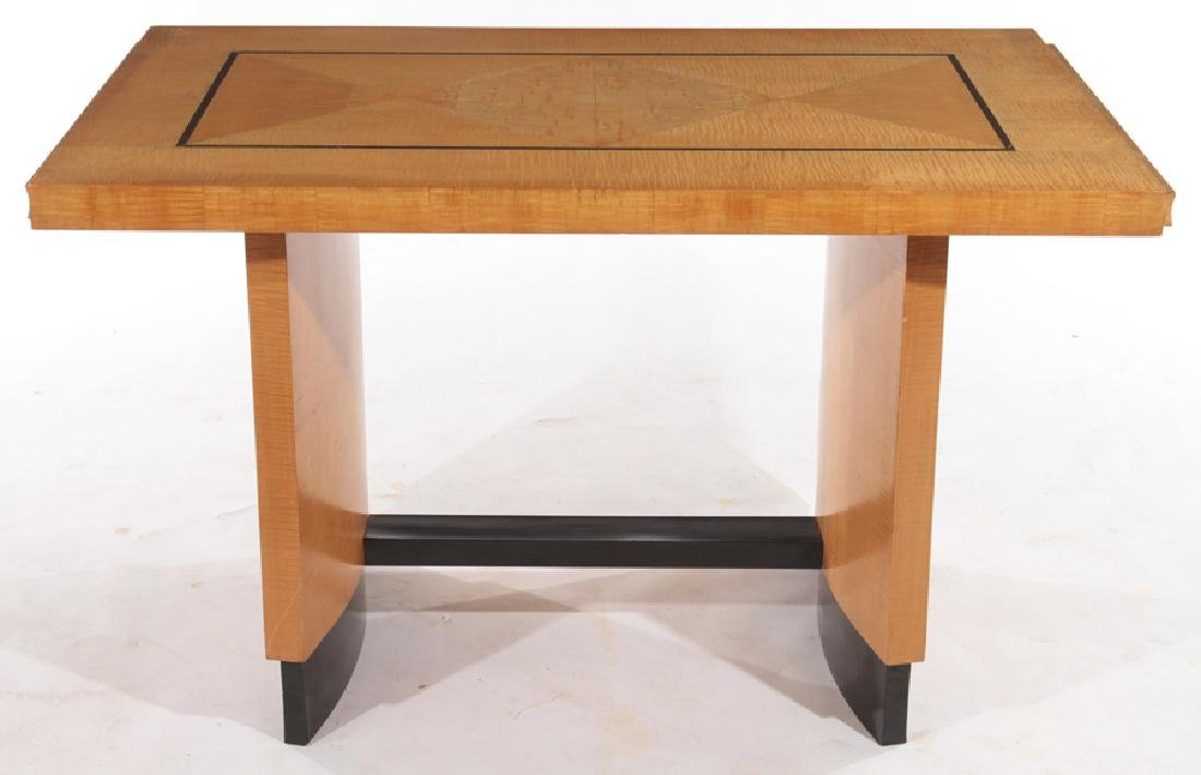 FRENCH MAPLE MODERN WRITING DESK C.1950 - 2
