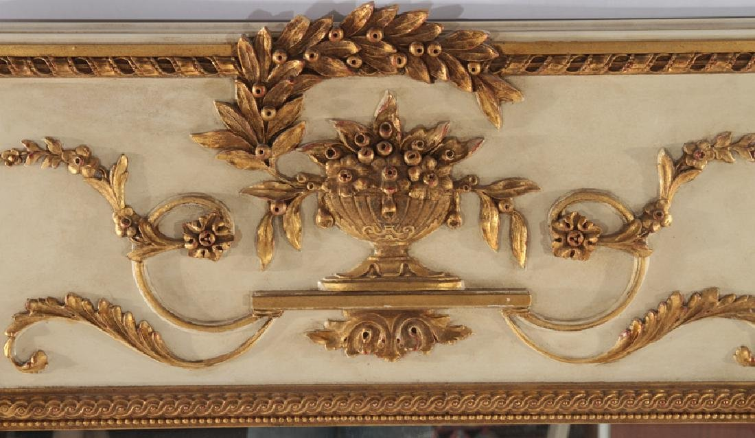 CARVED AND GILTWOOD FRENCH MIRROR NEOCLASSICAL - 2