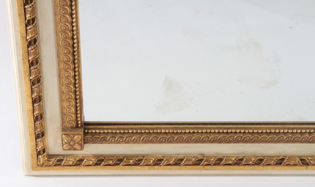 CARVED AND GILTWOOD FRENCH MIRROR NEOCLASSICAL - 3