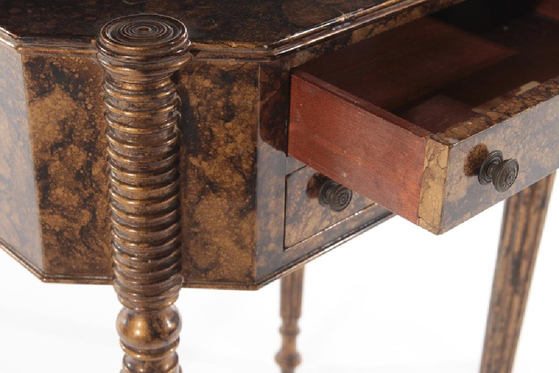 PAIR OF SHERATON STYLE 2 DRAWER STANDS C.1930 - 5