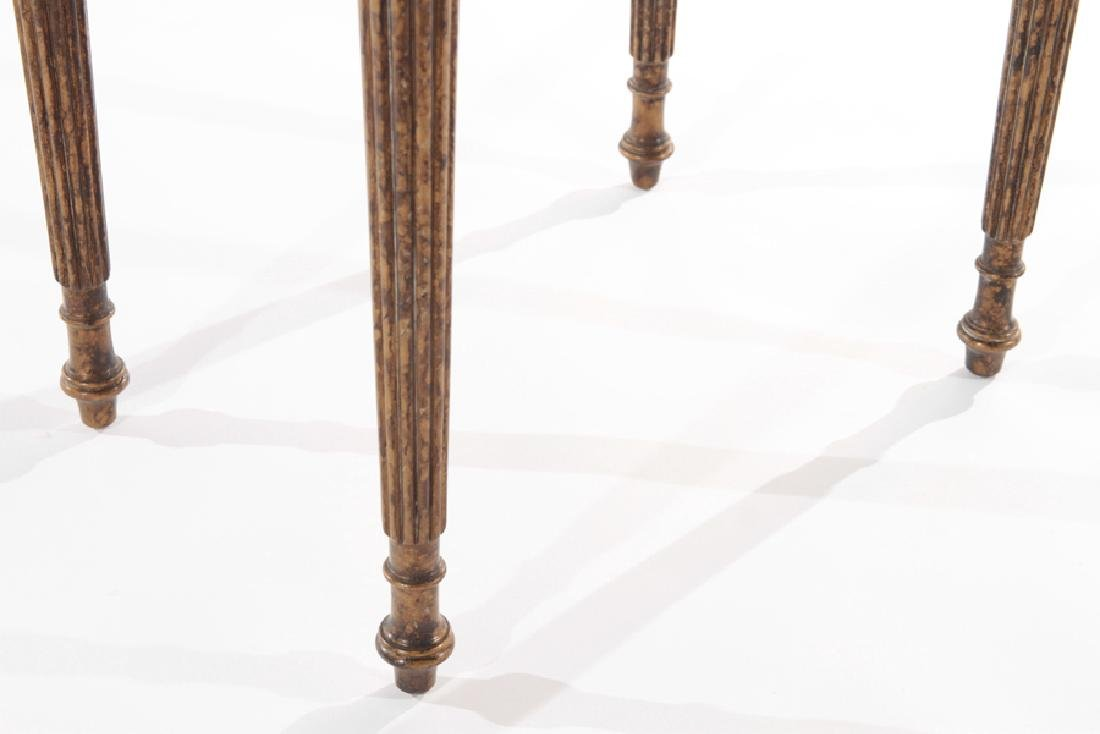 PAIR OF SHERATON STYLE 2 DRAWER STANDS C.1930 - 6