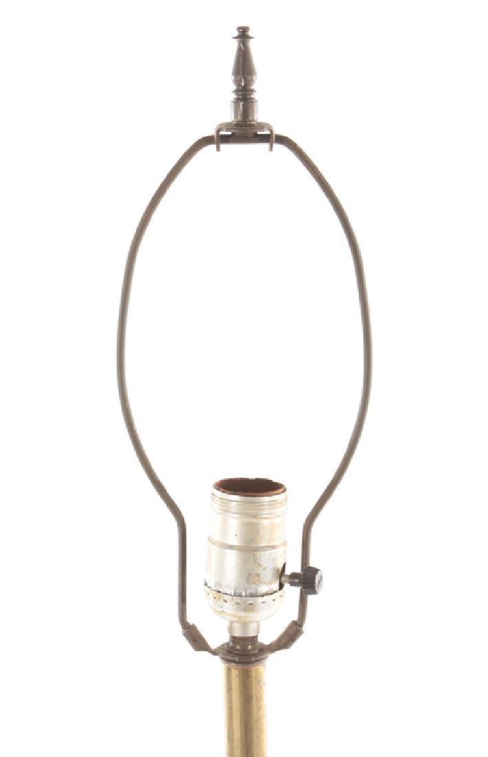 BRONZE FLOOR LAMP C.1910 - 2