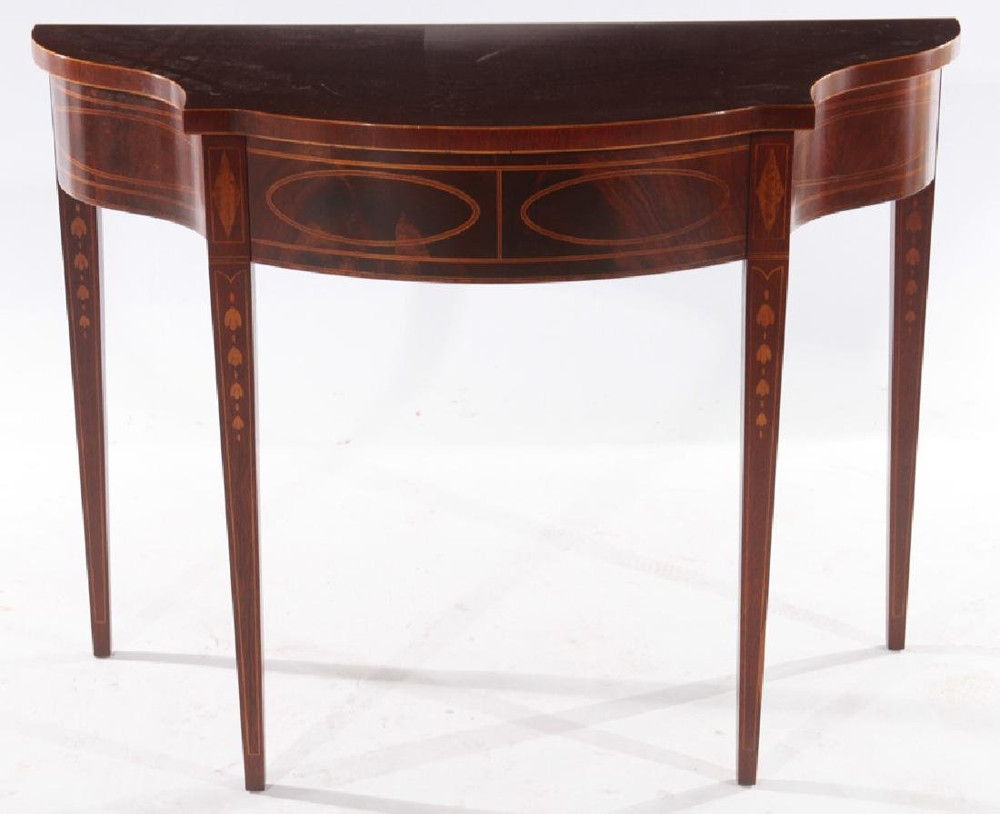 LABELED BAKER HISTORIC CHARLESTON CONSOLE TABLE
