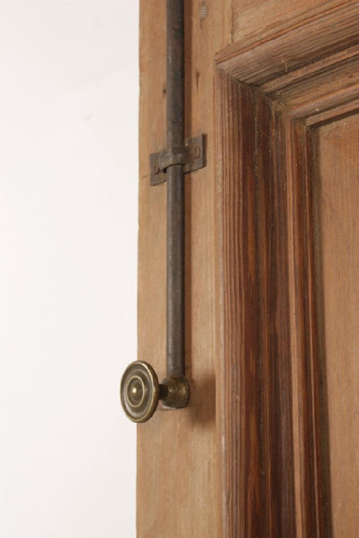 PAIR OF VICTORIAN CARVED ENTRY DOORS CIRCA 1890 - 5