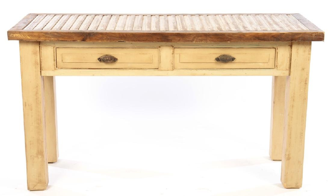 TWO DRAWER POTTING TABLE