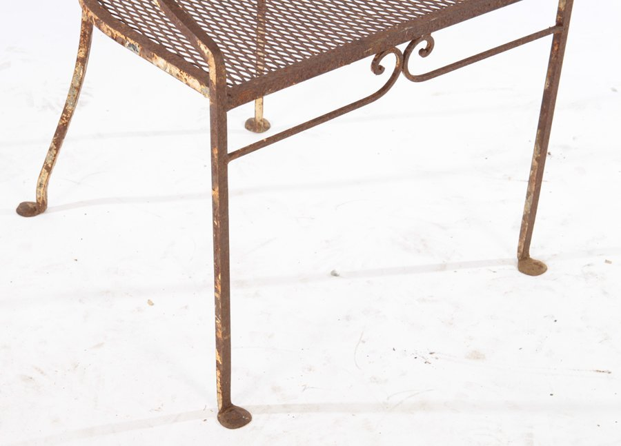 2 REGENCY STYLE GARDEN CHAIRS MATCHING TABLE 1940 - 6