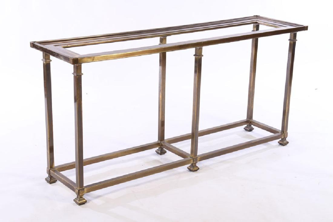 BRASS CONSOLE/SOFA TABLE