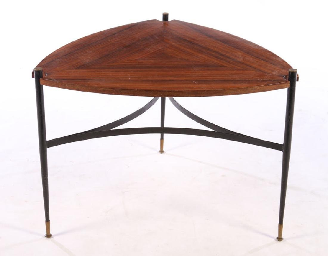ITALIAN ROSEWOOD MODERN COFFEE TABLE 1960