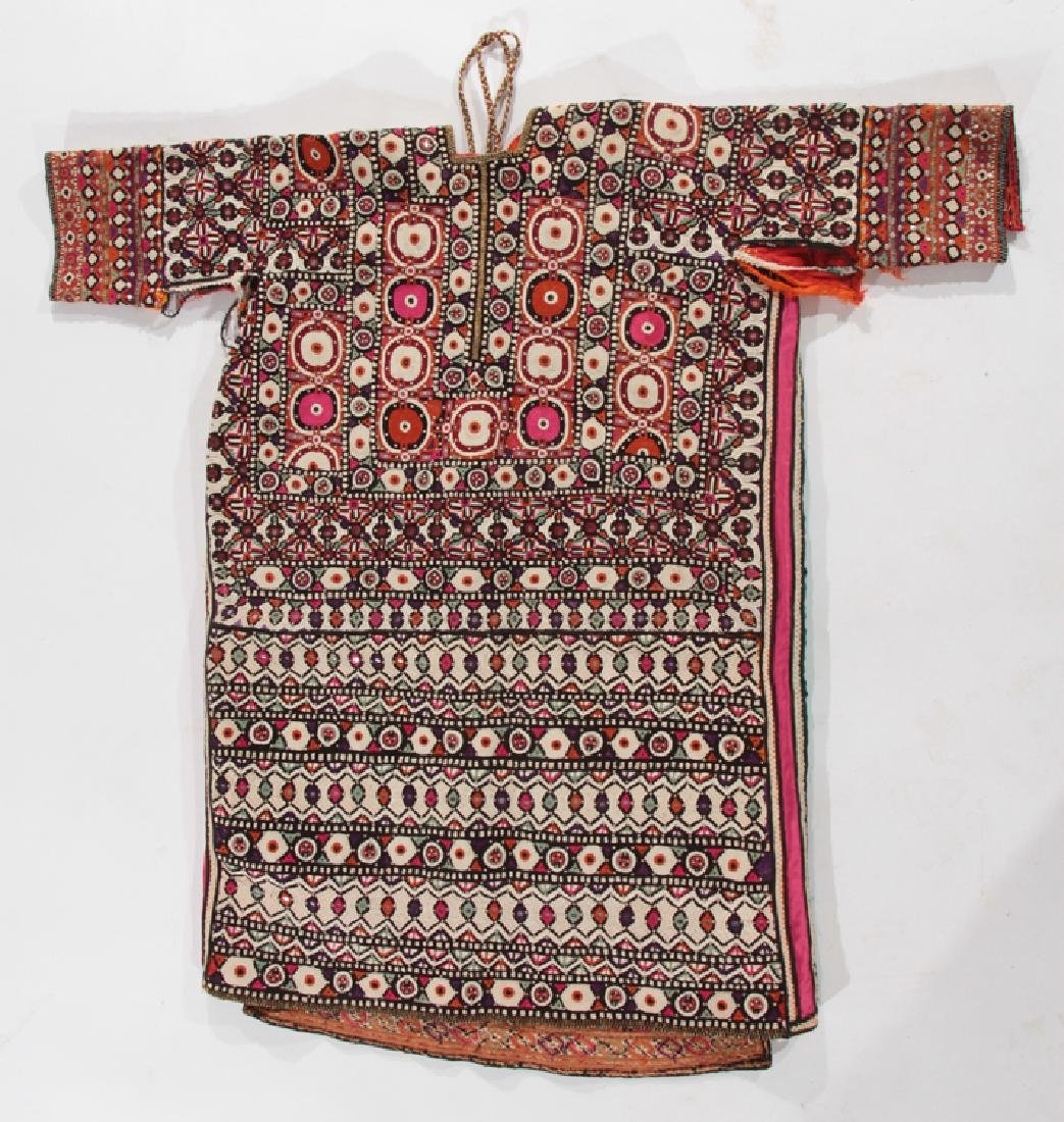 INTRICATELY STITCHED TEXTILE SHIRT EAST INDIAN