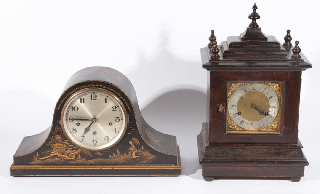 GUNTHER CHIME CLOCK AND SCHOOL HOUSE CLOCK C1930