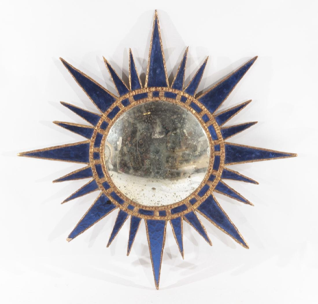 STAR BLUE GLASS MIRROR MANNER OF LINE VAUTRINE