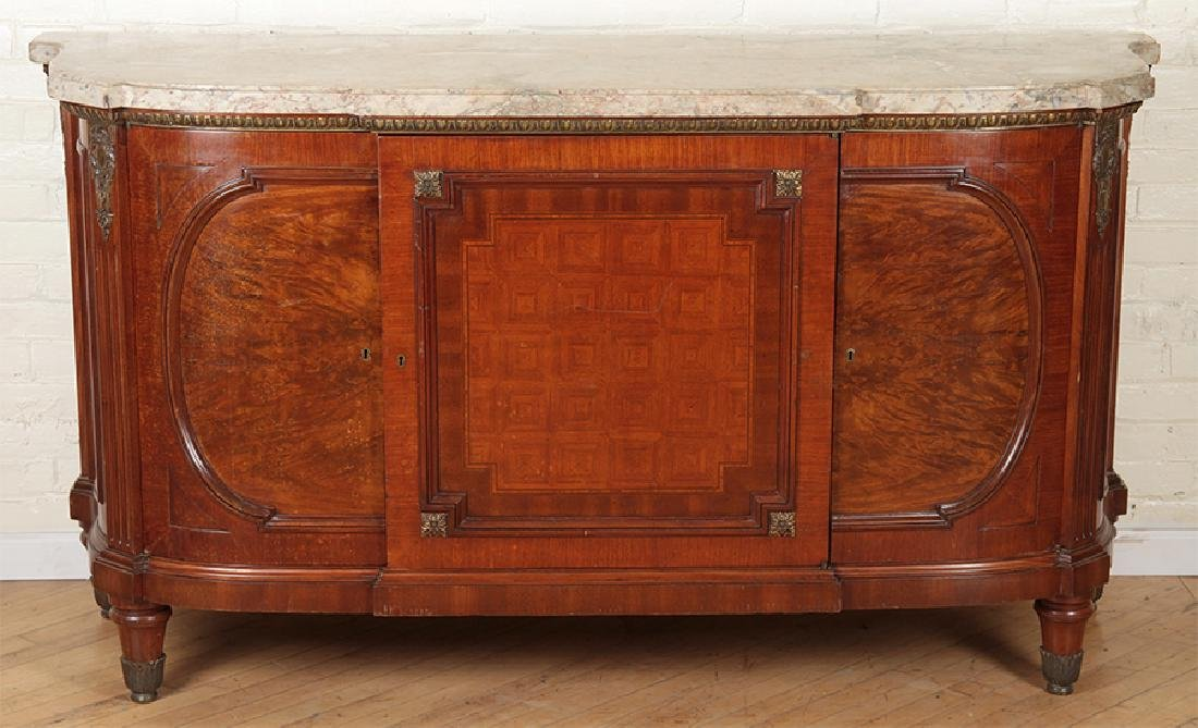 BRONZE MOUNTED FRENCH SIDEBOARD CIRCA 1930