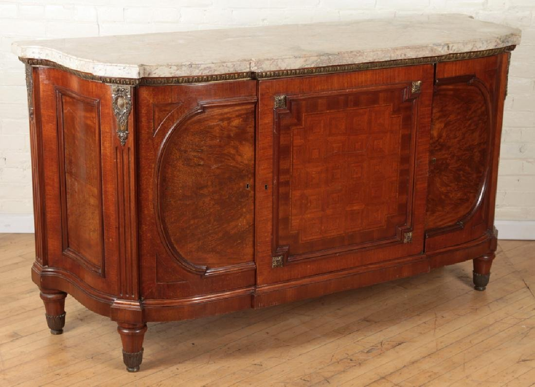 BRONZE MOUNTED FRENCH SIDEBOARD CIRCA 1930 - 2