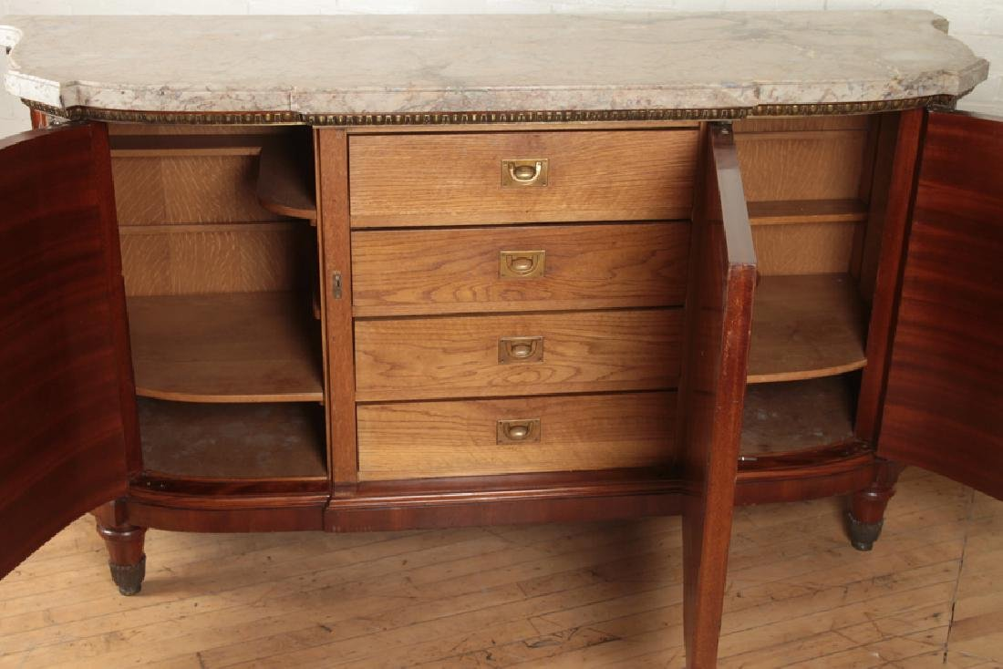 BRONZE MOUNTED FRENCH SIDEBOARD CIRCA 1930 - 5