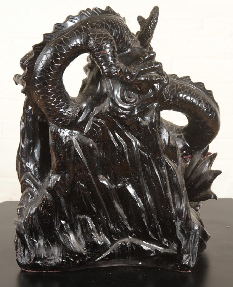 ELABORATE CHINESE DRAGON FIGURAL GROUP - 6