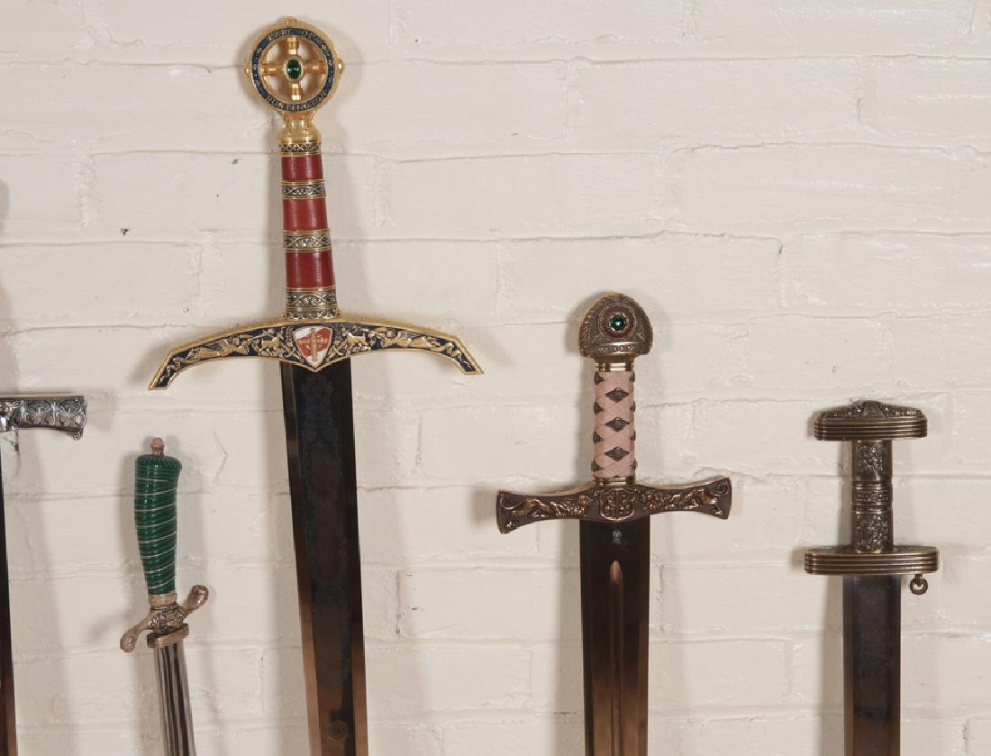 GROUPING OF 12 DECORATIVE SPANISH MADE SWORDS - 3