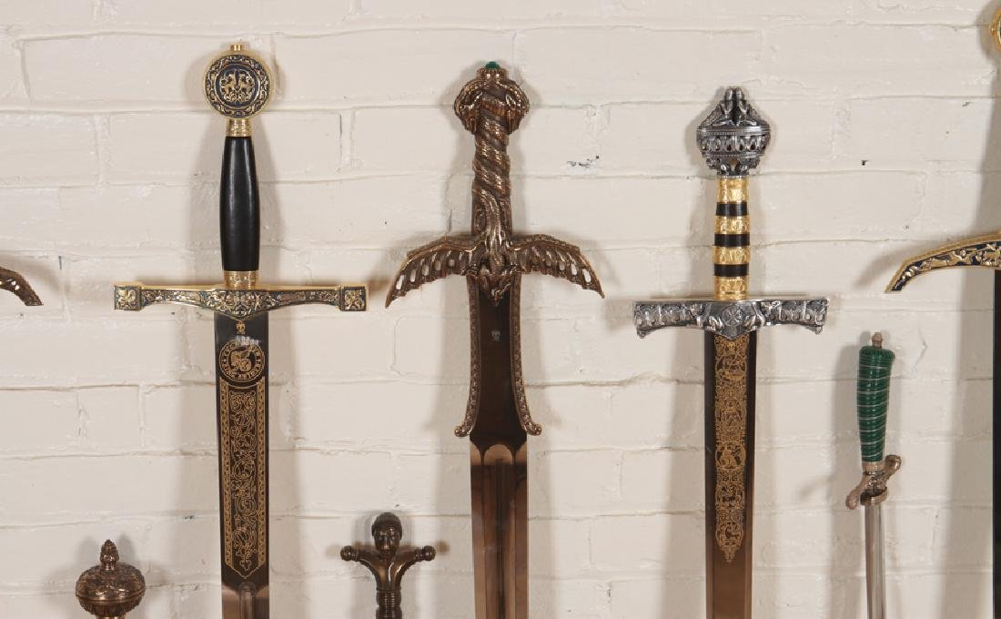 GROUPING OF 12 DECORATIVE SPANISH MADE SWORDS - 4
