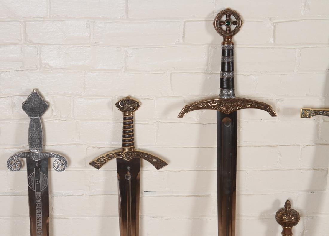 GROUPING OF 12 DECORATIVE SPANISH MADE SWORDS - 5
