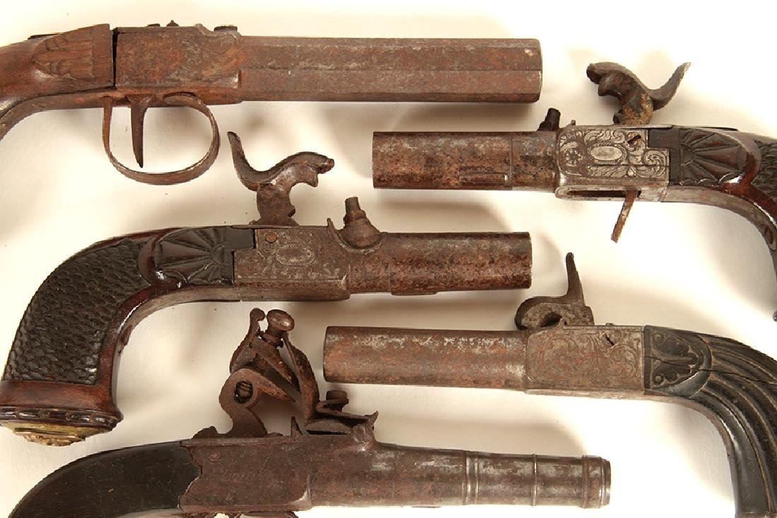 GROUP OF 5 17TH-18TH CENTURY PISTOLS - 2