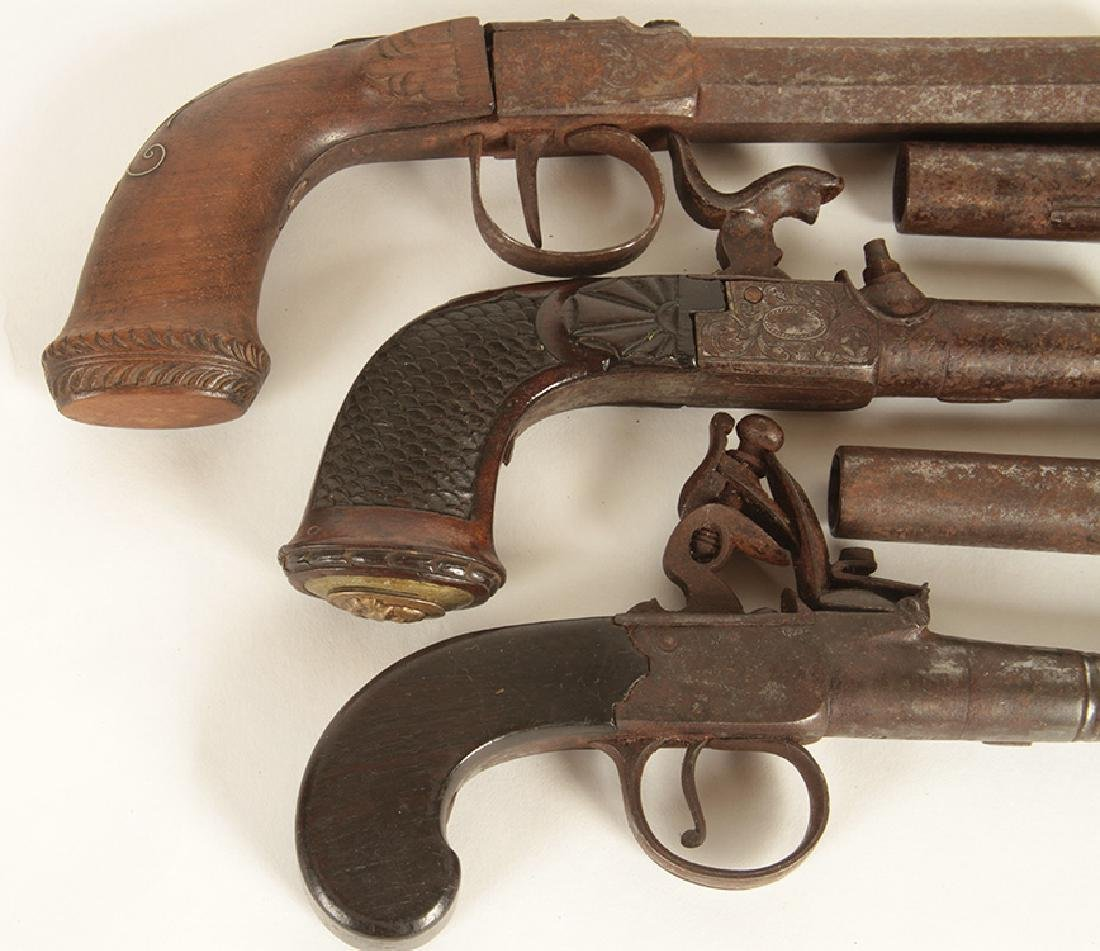 GROUP OF 5 17TH-18TH CENTURY PISTOLS - 3