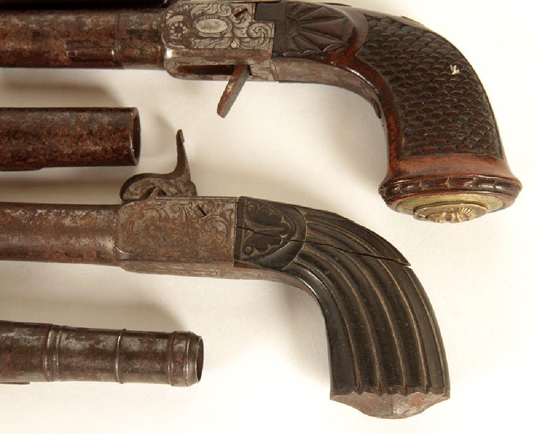 GROUP OF 5 17TH-18TH CENTURY PISTOLS - 4