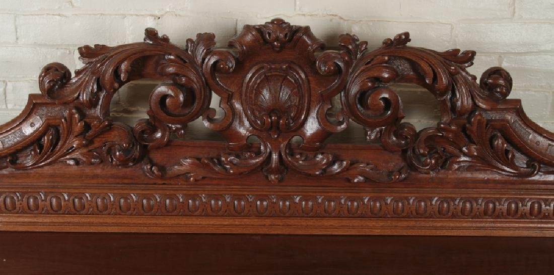 MONUMENTAL CARVED OAK SIDEBOARD CIRCA 1890 - 2