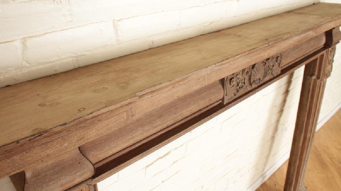 GEORGIAN STYLE MAHOGANY FIREPLACE MANTLE C.1920 - 2
