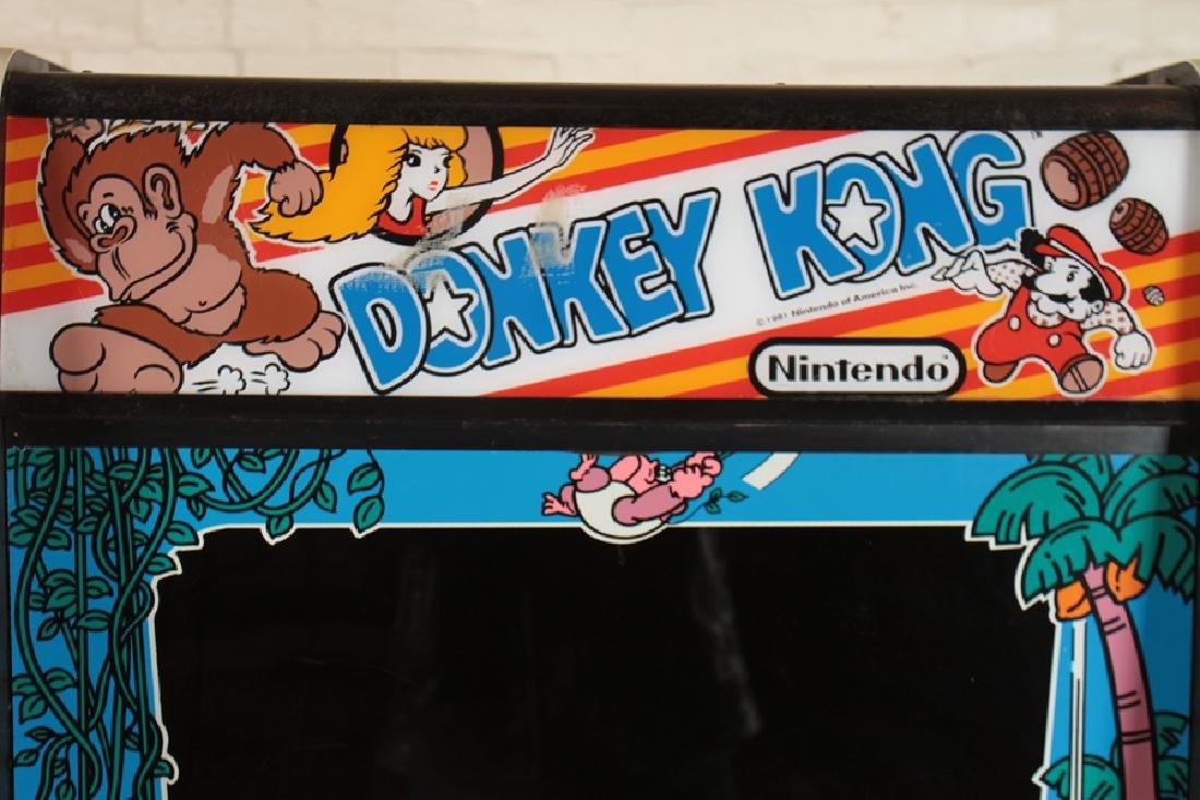 NINTENDO DONKEY KONG ARCADE GAME - 2