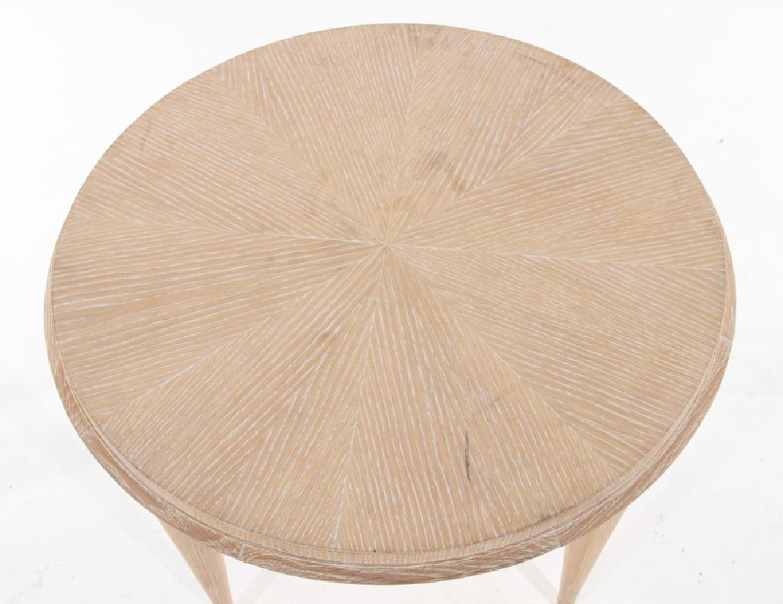 FRENCH MID CENTURY MODERN OAK COCKTAIL TABLE - 2