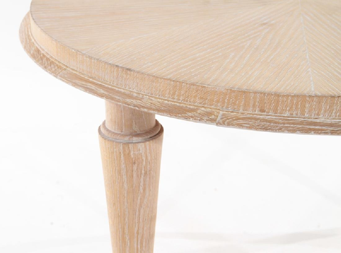 FRENCH MID CENTURY MODERN OAK COCKTAIL TABLE - 3