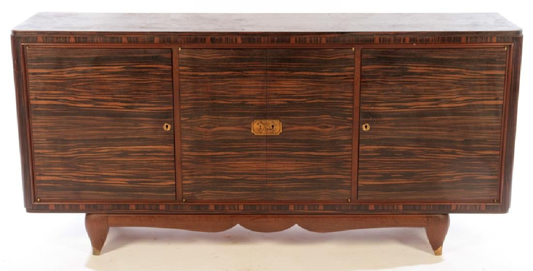 FRENCH ART DECO MACASSAR SIDEBOARD C.1940