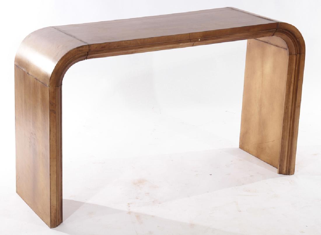 PAIR JEAN-MICHEL FRANK U FORM CONSOLE TABLES 1960 - 2